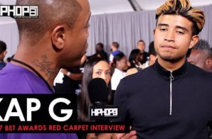 """Kap G Talks His Upcoming """"Super Jefe"""" Tour, Making the 2017 XXL Freshman List, His Future 2017 Endeavors & More on the 2017 BET Awards Red Carpet with HHS1987 (Video)"""