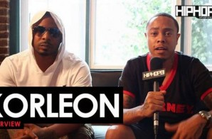 "Korleon Talks ""Counting Up Blessing"",""Strictly For The Sippers"", Jackson, MS Music Scene & More with HHS1987 (Video)"
