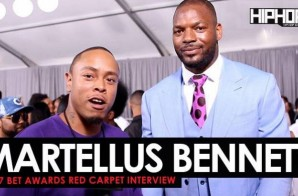 """Martellus Bennett Talks Super Bowl 51, Playing For The Green Bay Packers, His """"The Imagination Agency"""" Production Co. & More on the 2017 BET Awards Red Carpet with HHS1987 (Video)"""