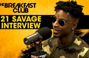 21 Savage Returns To The Breakfast Club (Video)