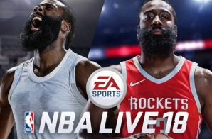 Fear The Beard: Houston Rockets Star James Harden Covers NBA Live 18