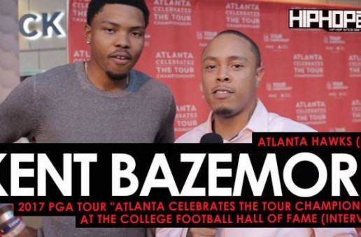 """Atlanta Hawks (F/G) Kent Bazemore Talks His 2017 """"UNO Tournament"""", Golfing with His NBA Peers, the Nike """"Statement"""" Jerseys & More at the 2017 PGA Tour """"Atlanta Celebrates the TOUR Championship"""" at the College Football Hall of Fame"""