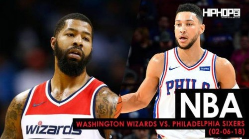 Wiz-Sixers-500x279 Brotherly Love Flying High: Washington Wizards vs. Philadelphia Sixers (2-6-18) (Recap)