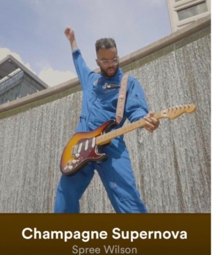Spree Wilson – Champagne Supernova (New Single and Visual)
