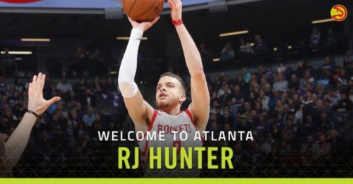 DmgcENbXcAAIMhE-500x261 Back Ballin in the A: The Atlanta Hawks Have Signed Guard R.J. Hunter