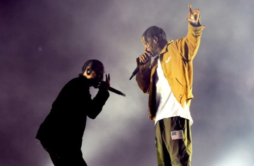 Travis Scott Brings Kendrick Lamar On Stage At Madison Square Garden (Video)