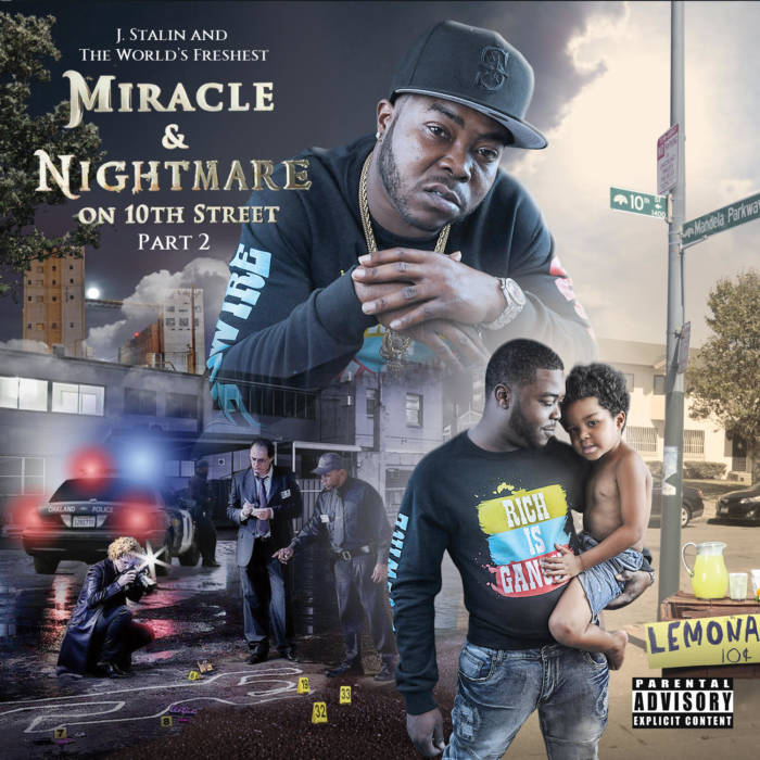 J. Stalin and Dj. Fresh – Miracle & Nightmare On 10th Street, Pt. 2