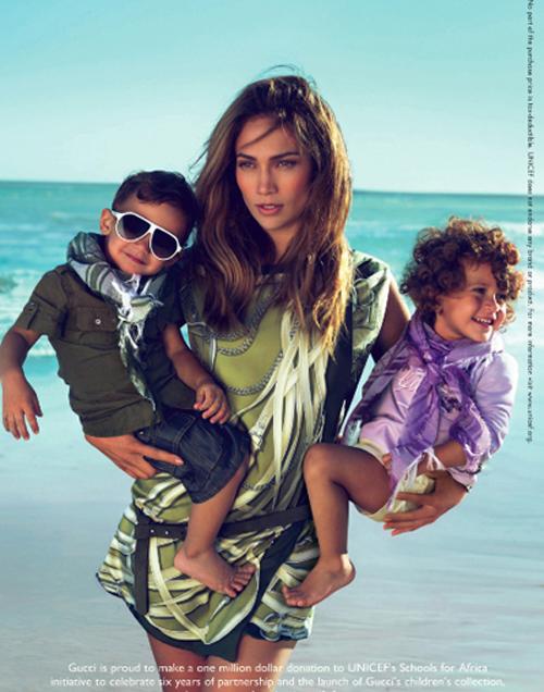 jlo_gucci Jennifer Lopez & Twins Face of Gucci Campaign
