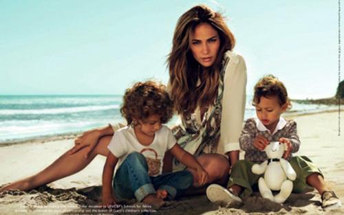jlo_gucci2 Jennifer Lopez & Twins Face of Gucci Campaign