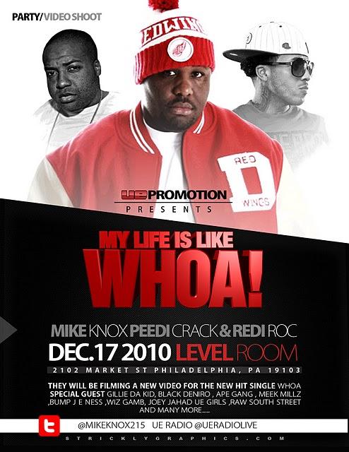 mike-knox-peedi-redi Mike Knox - Whoa Freestyle Ft. Peedi Crakk & Redi Roc