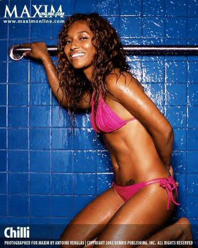 rozonda_chilli_thomas_maxim6 Chilli Poses For Maxim In Her Bikini