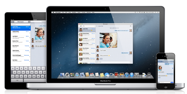 Apple-Messages-app Messages for Mac App (You Can Now Send iMessages From Your Mac, Download Link Inside)