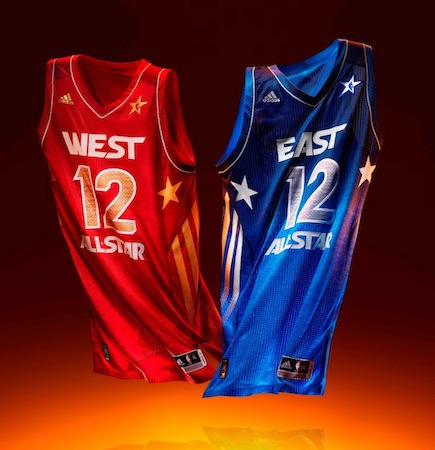 IFWT-11 Adidas Unveils 2012 All-Star Uniforms