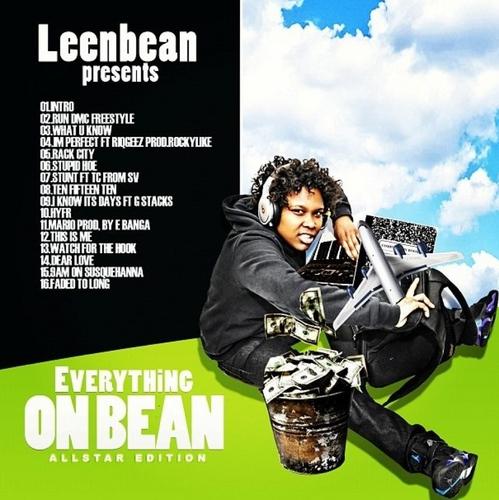 Leen_Bean_Lean_Bean_Everything_On_A_Bean-back-large Lean Bean (@LEENBEAN17) - Everything On A Bean (Mixtape)