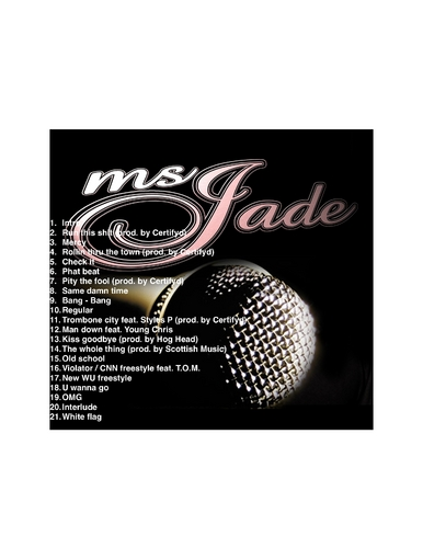 ms-jade-straight-no-chaser-mixtape-HHS1987-2012-tracklist Ms. Jade (@TheRealMsJade) - Straight No Chaser (Mixtape)