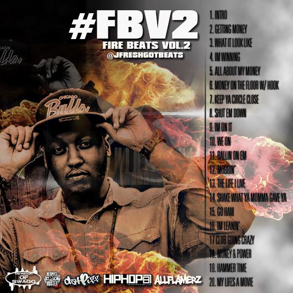 j-fresh-jfreshgotbeats-fire-beats-vol-2-instrumentals-HHS1987-2012-Back J. Fresh (@JfreshGotBeats) - Fire Beats Vol.2 (Instrumentals)
