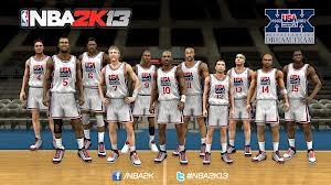 dream-team NBA2K13 Will Feature The Olympic '92 & '12 USA Dream Teams