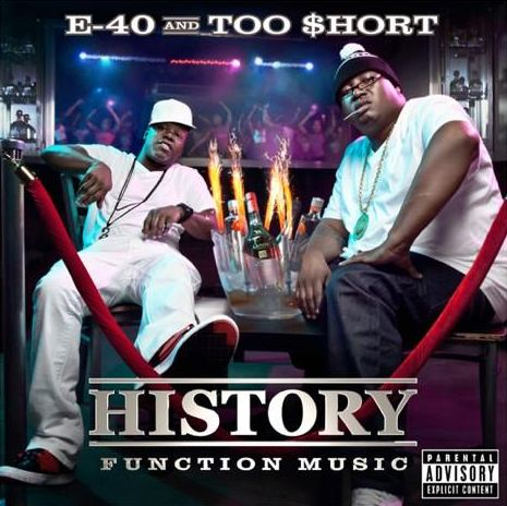 e40-function-music E40 & Too $hort – History: Mob Music + Function Music (Offical Artwork)