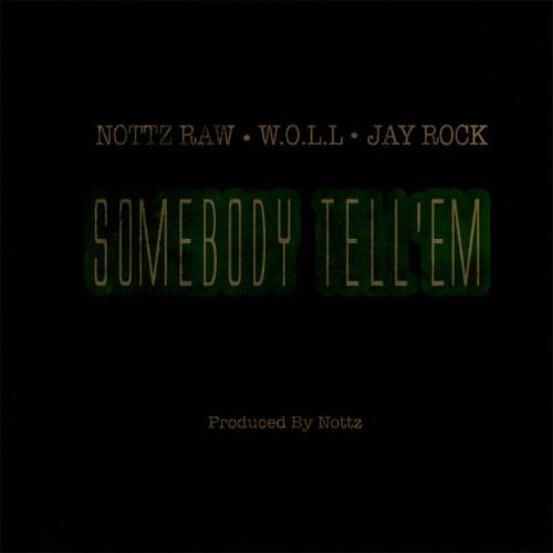 nottz-somebody-tell-em-500x500 Nottz (@NottzRaw) – Somebody Tell Em Ft. Jay Rock & WOLL (Prod. by Nottz)
