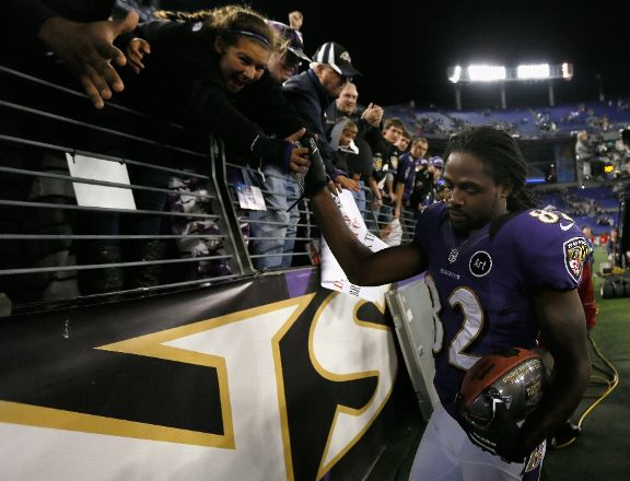 torrey Ravens WR Smith Shines Big Against Patriots Following Loss Of Brother