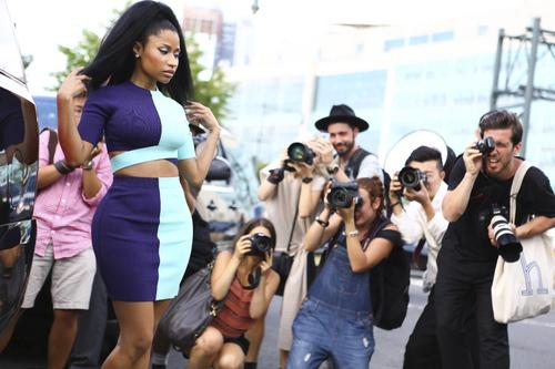 Nicki Minaj Attends IC...