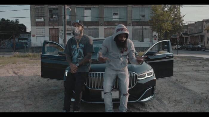 """Dark-Lo And V Don Hold It Down In The Projects In New """"Meech"""" Video"""